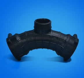الصين Auto pipe connector , PA66 Material interior parts , injection mold workmanship المزود