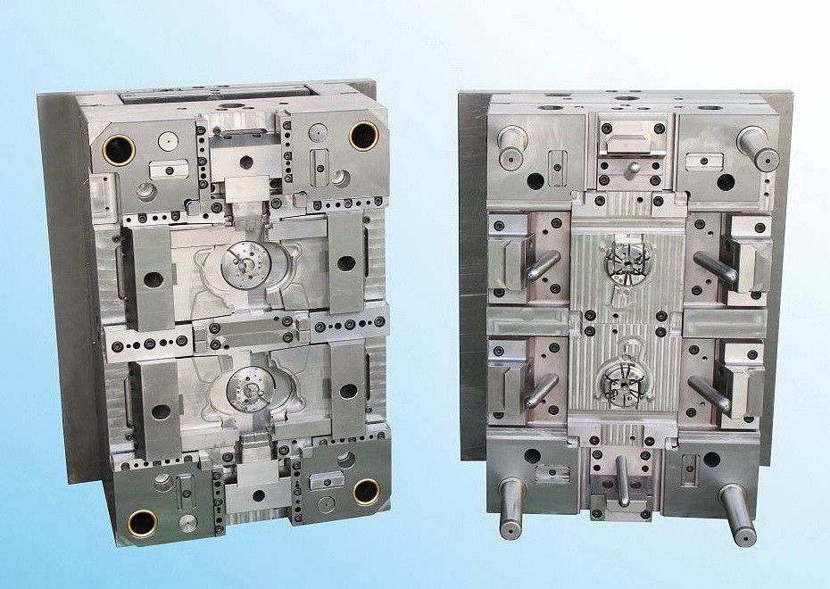 YUDO Hot Runner 2 cavity plastic injection mould HASCO standard